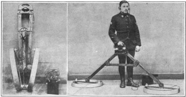 early metal detectors