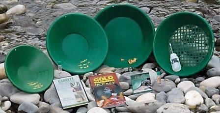how to pan for gold, gold panning kits for beginners