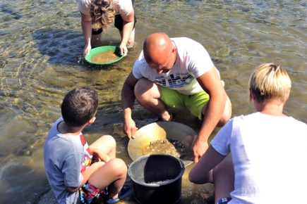 gold panning for beginners